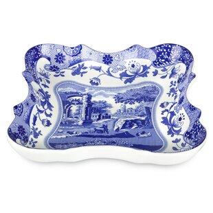 Blue Italian Devonia Platter By Spode