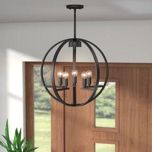 Jaiden 5 Light Globe Chandelier
