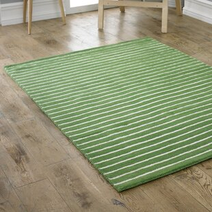 Arushi Hand-Tufted Green Area Rug by Longweave