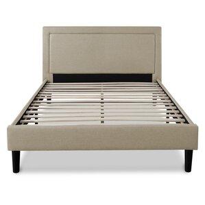regina upholstered platform bed