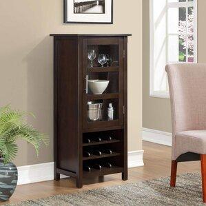 Bar & Wine Cabinets You'll Love   Wayfair