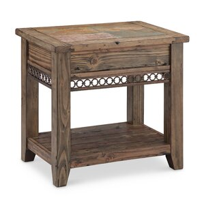 Devere End Table by World Menagerie