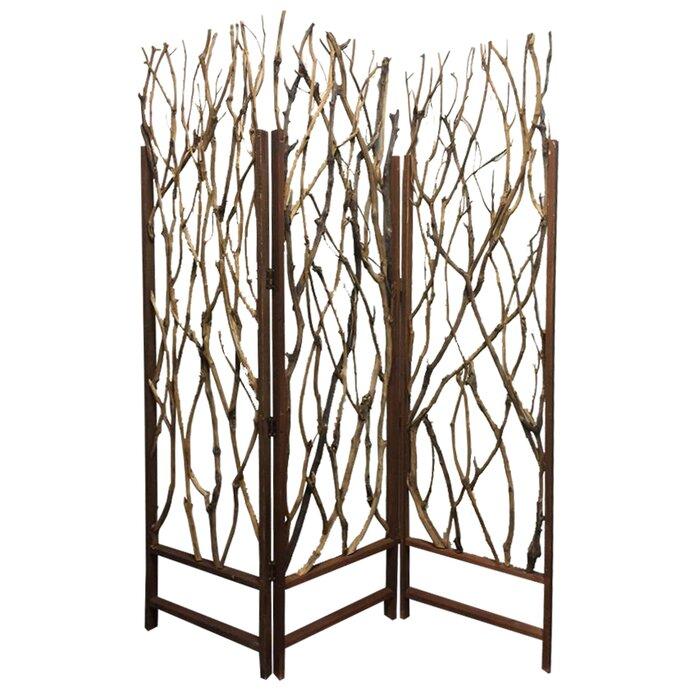 Tree Screen 3 Panel Room Divider