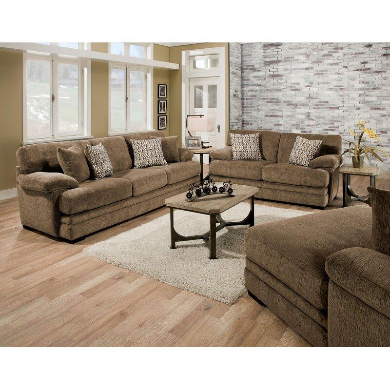 Red Barrel Studio Ensminger Transitional Chenille Sofa | Wayfair