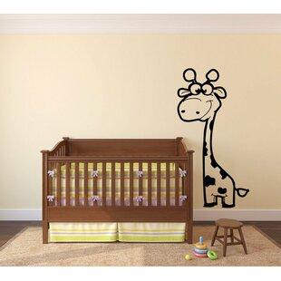 Inwood Giraffe Wall Decal & Giraffe Wall Decal | Wayfair
