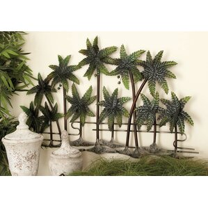 Metal Palm Wall Décor