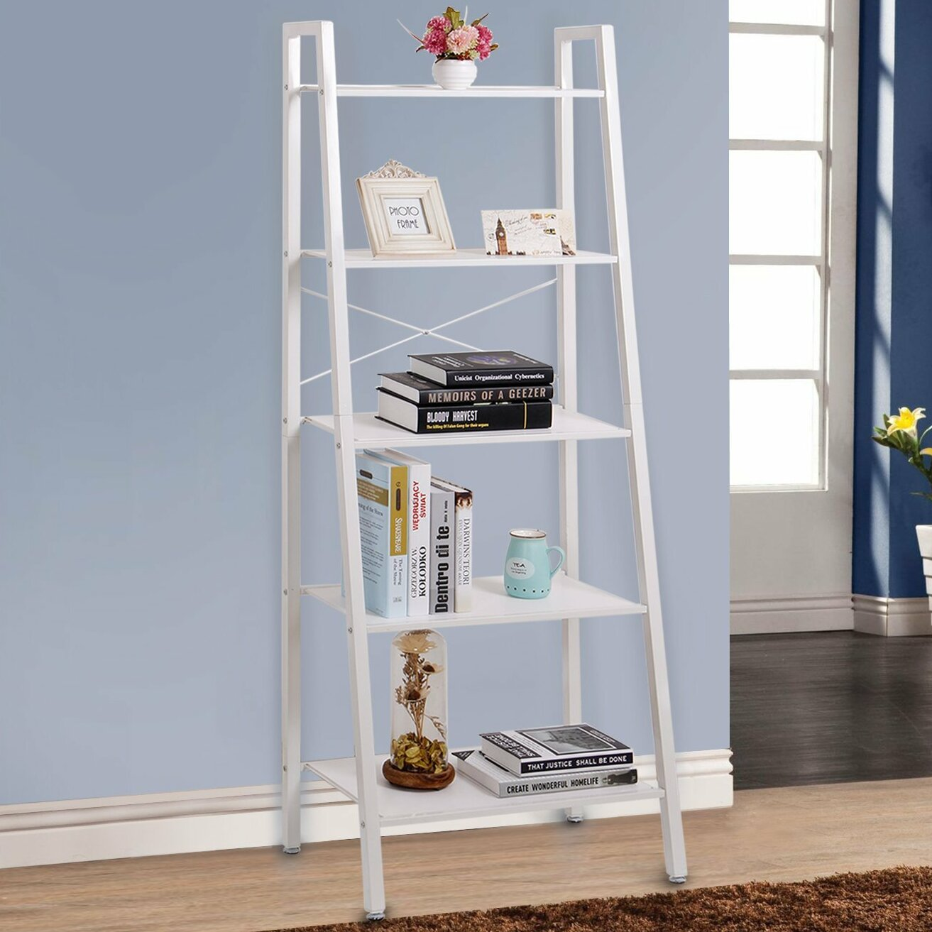 Lifewit 5 Tier Ladder Bookcase Reviews