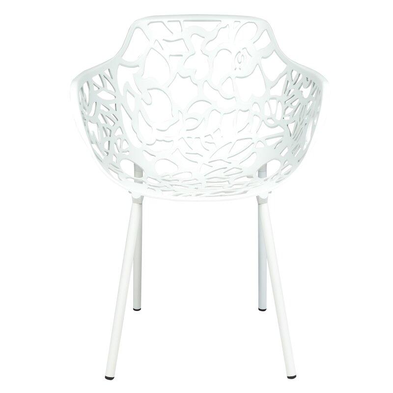 Leisuremod Devon Patio Dining Chair Amp Reviews Wayfair