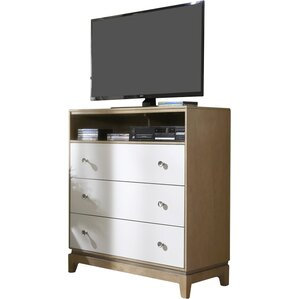 Hector 3 Drawer Media Chest by Mercury Row
