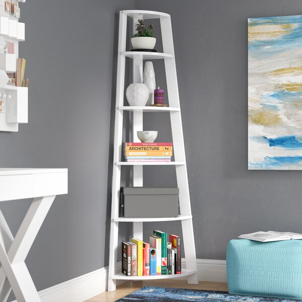 Latitude Run Sandara Corner Unit Bookcase Reviews