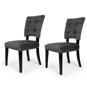 Naida Velvet Upholstered Dining Chair (Set Of 2) Part 77