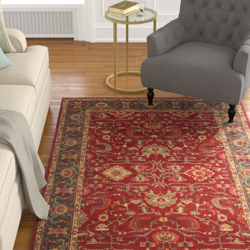 Astoria Grand Pennypacker Red Area Rug & Reviews | Wayfair