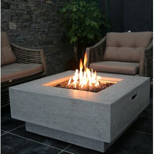 outdoor fire table. Manhattan Concrete Natural Gas Fire Pit Table Outdoor E