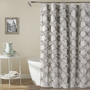 Gray Silver Shower Curtains Youll Love