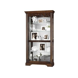 Hartland Lighted Curio Cabinet by Howard ..