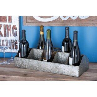 Osterley Iron 10 Bottle Tabletop Wine Rack