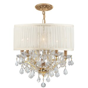 Corrinne Modern 6-Light Drum Chandelier