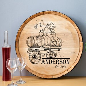 Wine Barrel Wall Decor wine barrel wall decor | wayfair