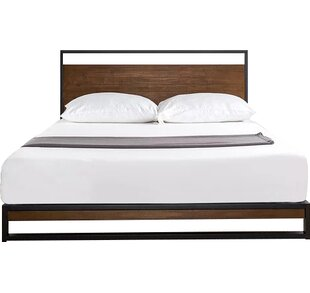 Modern Contemporary Low Profile King Bed Frame Allmodern