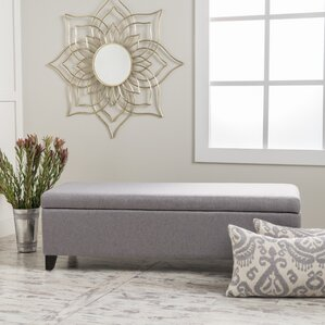 Ewan Upholstered Storage Bench