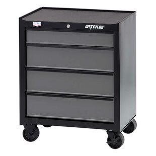 W100 Series 26 Wide 4 Drawers Bottom Rollaway Chest