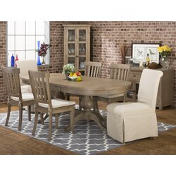 Laurel foundry modern farmhouse cannes extendable dining for Table 22 cannes