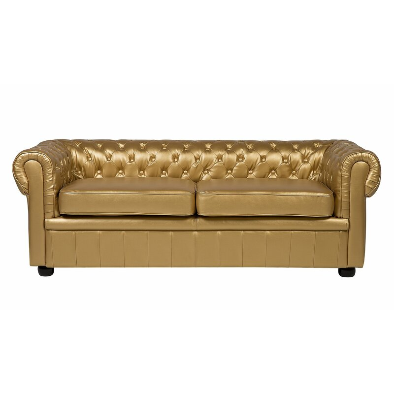 Rosdorf Park Meeks 3 Seater Chesterfield Sofa | Wayfair