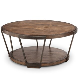 9fca852194 Distressed Finish Coffee Tables You'll Love in 2019 | Wayfair