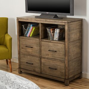 Modern & Contemporary Bedroom Media Chests You\'ll Love | Wayfair