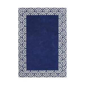 Butte Hand-Tufted Blue Area Rug