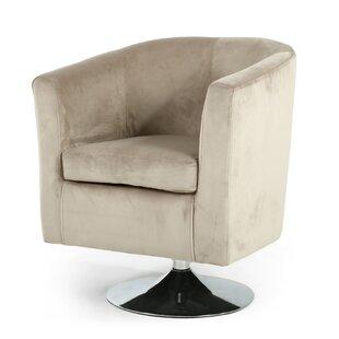 crushed velvet swivel chair wayfair co uk