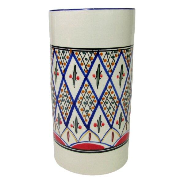 Tabarka Stoneware Utensil Holder
