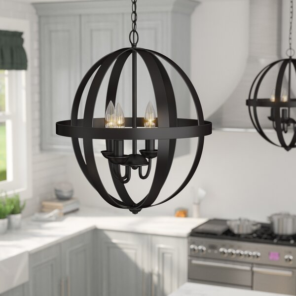 Farmhouse Entryway Chandelier: Laurel Foundry Modern Farmhouse La Barge 3-Light Foyer