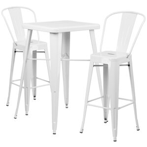 Suruga 3 Piece Pub Table Set