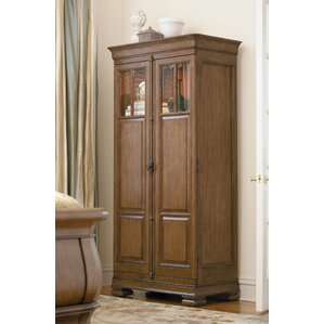 Mauritane 2 Door Tall Accent Cabinet  sc 1 st  Wayfair & Tall Glass Door Cabinet | Wayfair pezcame.com