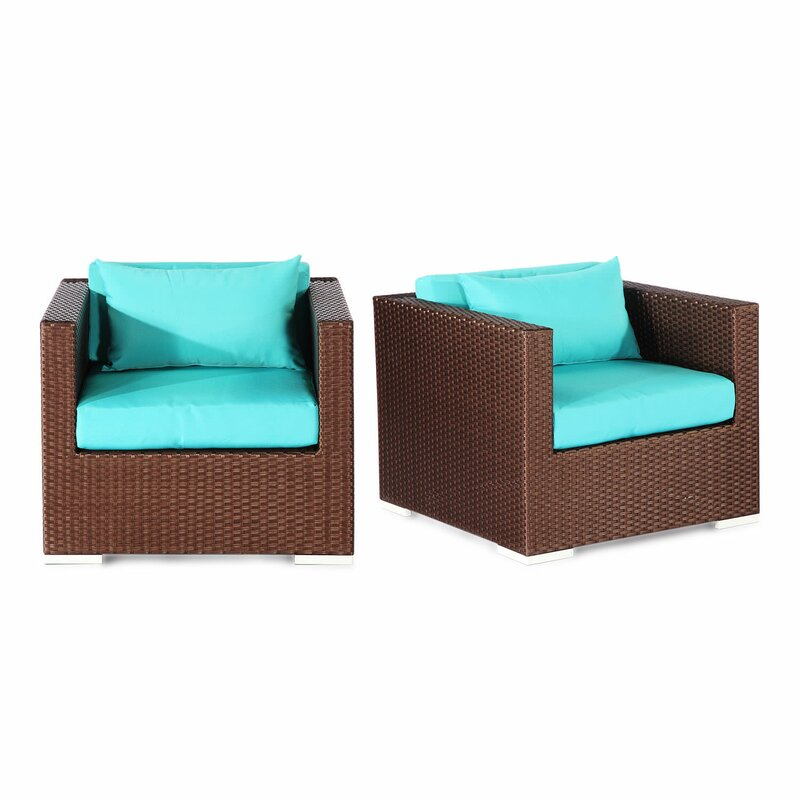 Aloha Hilo Outdoor Deep Armchair With Cushions