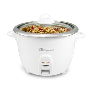 Elite by Maxi-Matic 20 Cup Platinum Rice Cooker