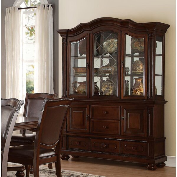 china cabinet with buffet wayfair rh wayfair com china cabinet buffet and hutch china cabinet and buffet server