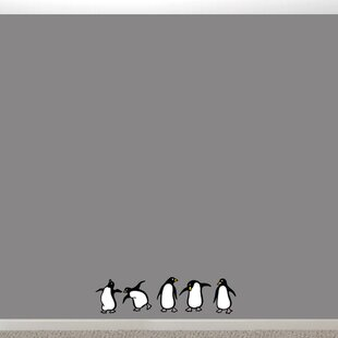 Penguins Printed Wall Decal & Penguin Wall Decals | Wayfair