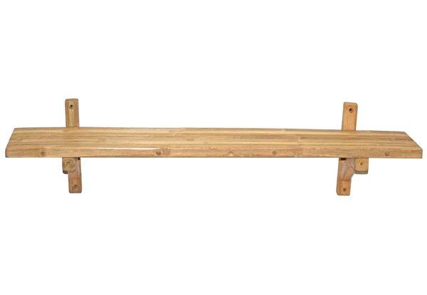 Bamboo54 Bamboo Single Wall Shelf   Wayfair