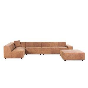 Benavidez Leather Sofa by Mercury Row