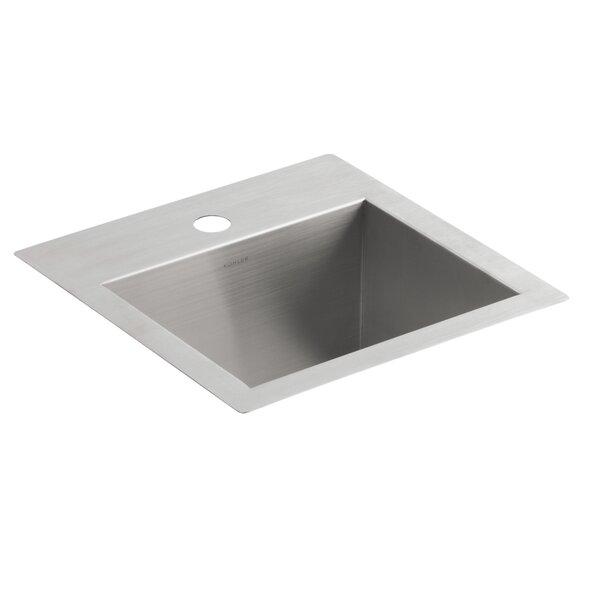 Delicieux K 3840 1 NA Kohler Vault Top Mount/Under Mount Bar Sink With Single Faucet  Hole U0026 Reviews | Wayfair
