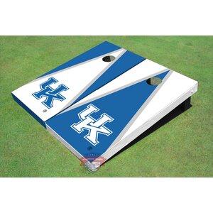 NCAA Alternating Triangle Cornhole Board (Set of 2)