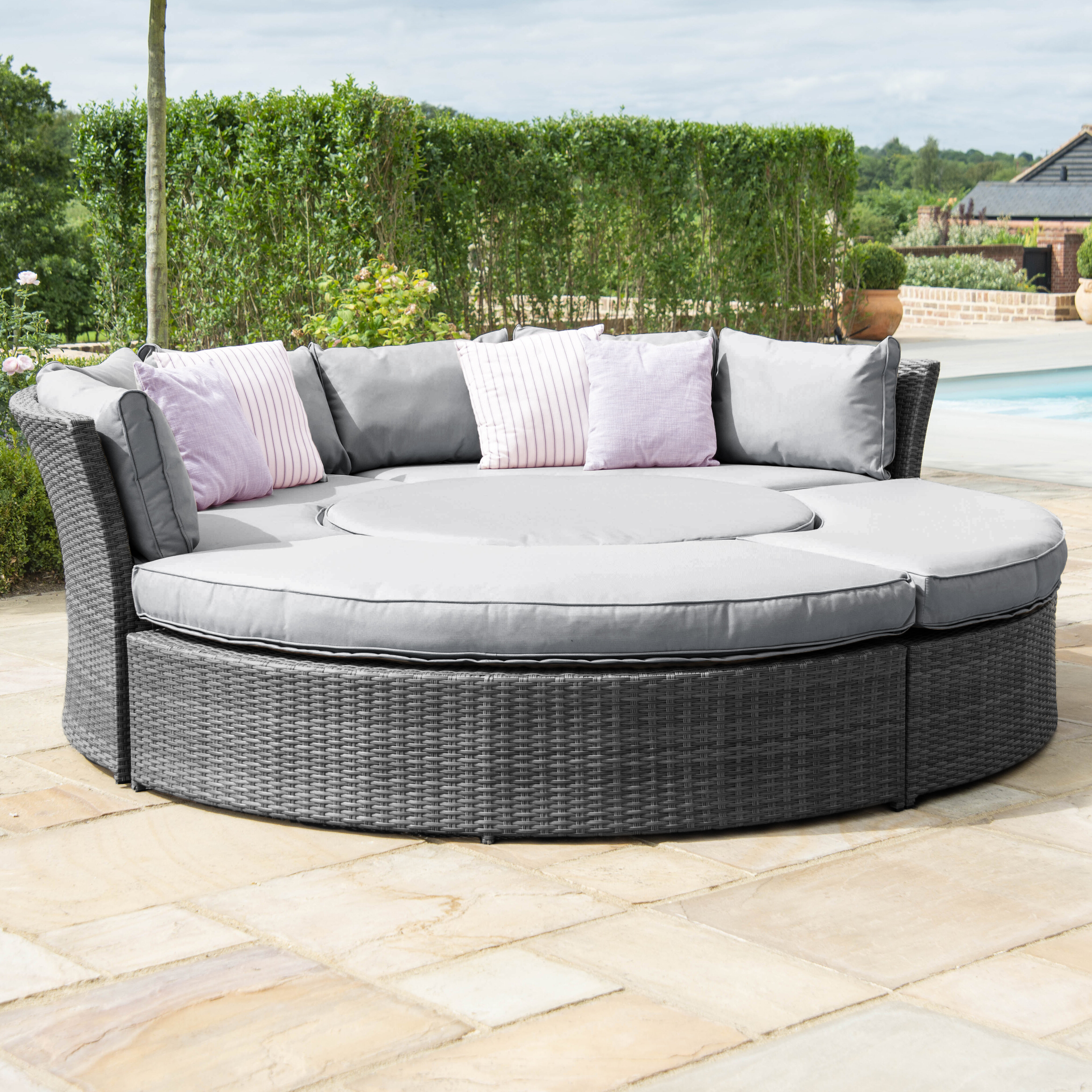 Sol 72 Outdoor Marysville 8 Seater Rattan Sofa Set Wayfair Co Uk