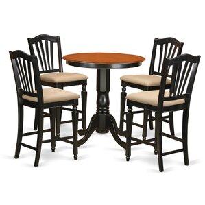 Eden 5 Piece Counter Height Pub Table Set..