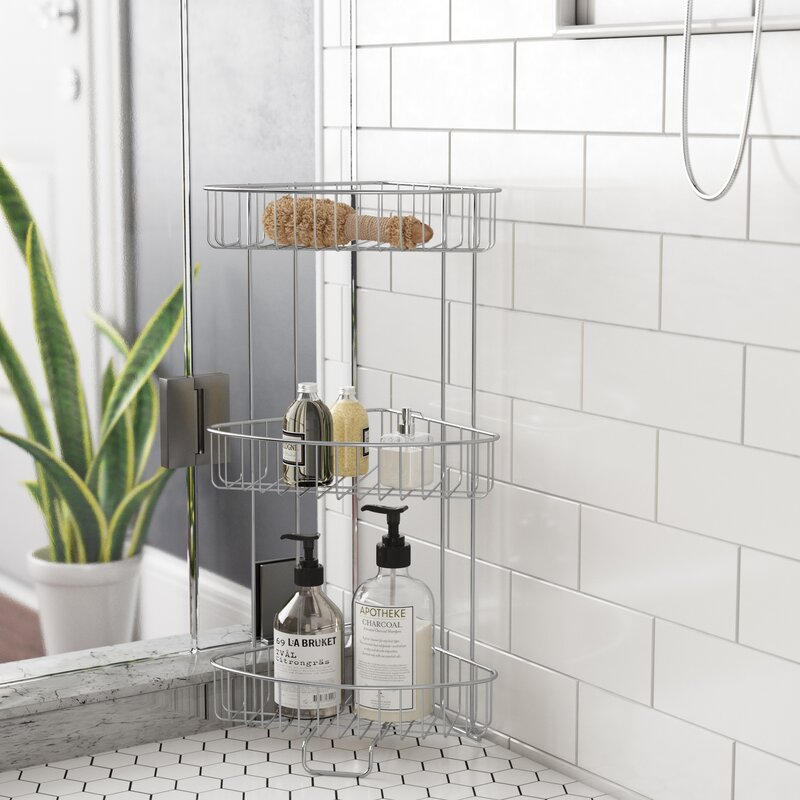 Genial Free Standing Shower Caddy