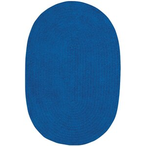 Yonkers Braided Royal Blue Area Rug
