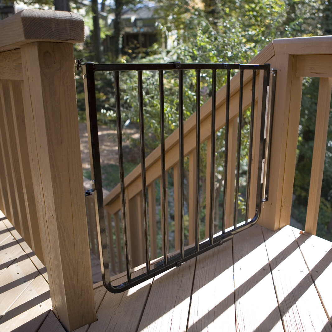 Cardinal Gates Stairway Special Outdoor Gate U0026 Reviews | Wayfair