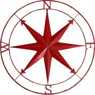 Metal Compass Wall Decor