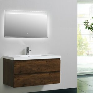Bathroom Vanities Tampa 41 to 45 inch bathroom vanities you'll love | wayfair